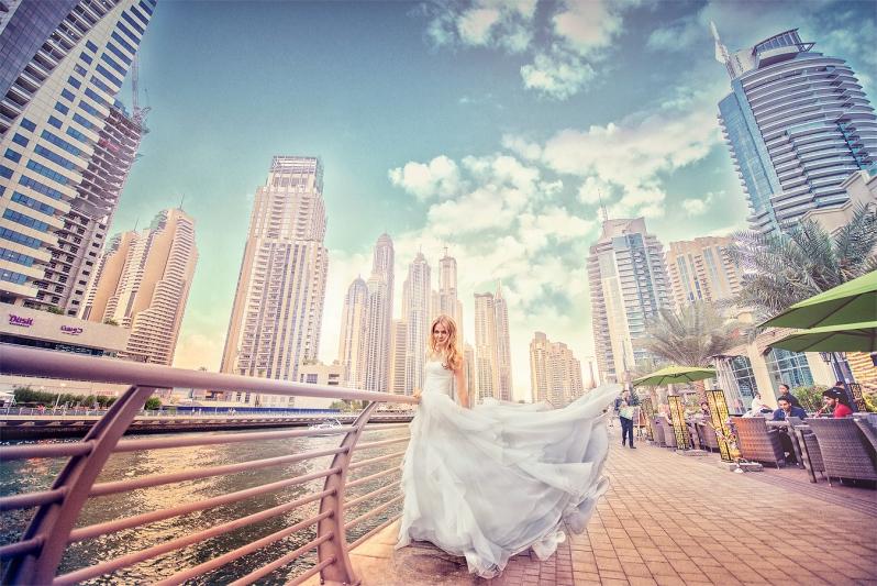 Dubai-Montage